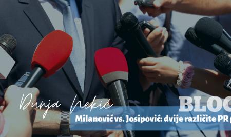 Milanović vs. Josipović: dvije različite PR priče u borbi protiv negativnih nadimaka u javnosti